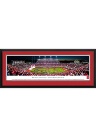 NC State Wolfpack Football Night Game Deluxe Framed Posters