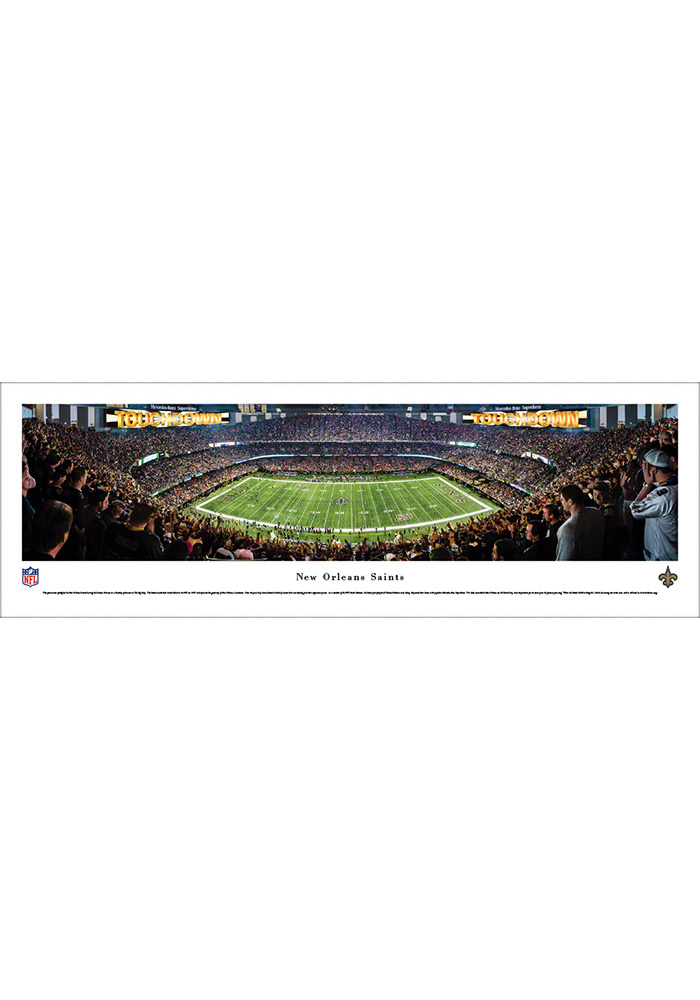 New Orleans Saints 50 Yard Line Unframed Unframed Poster - Image 1