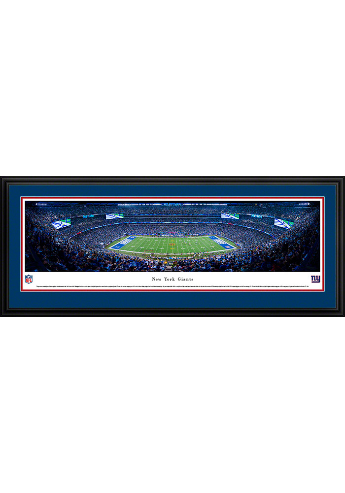 New York Giants 50 Yard Line Deluxe Framed Posters - Image 1