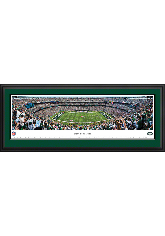 New York Jets 50 Yard Line Deluxe Framed Posters - Image 1