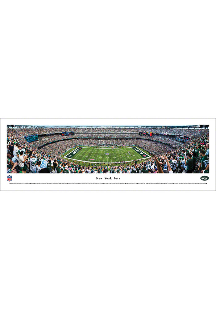 New York Jets 50 Yard Line Unframed Unframed Poster - Image 1