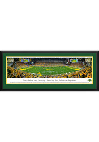 North Dakota State Bison 50 Yard Line Deluxe Framed Posters