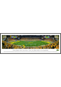 North Dakota State Bison 50 Yard Line Standard Framed Posters