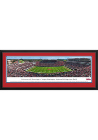 Ole Miss Rebels 50 Yard Line Deluxe Framed Posters