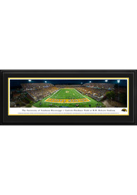 Southern Mississippi Golden Eagles Football Deluxe Framed Posters
