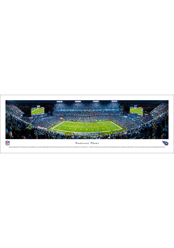 Tennessee Titans Football Night Game Unframed Unframed Poster - Image 1