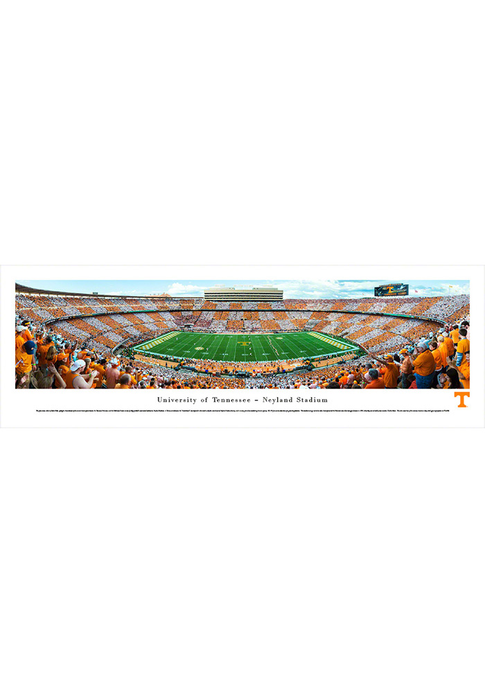 Tennessee Volunteers Football Checkerboard Unframed Unframed Poster - Image 1