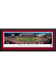 Washington State Cougars 50 Yard Line Deluxe Framed Posters