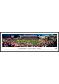 Washington State Cougars 50 Yard Line Standard Framed Posters