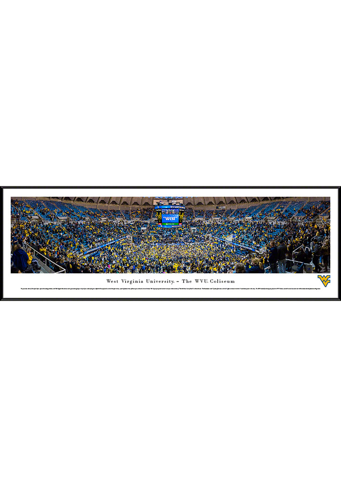 West Virginia Mountaineers Basketball Standard Framed Posters - Image 1