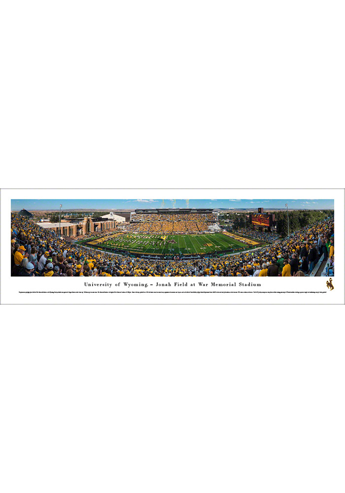 Wyoming Cowboys Football Unframed Unframed Poster - Image 1