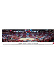 Wisconsin Badgers Kohl Center Tubed Unframed Poster