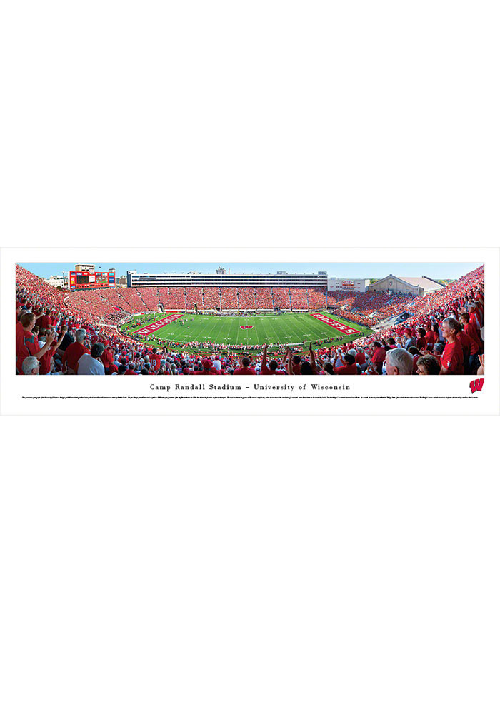 Wisconsin Badgers Camp Randall Stadium Tubed Unframed Poster - Image 1