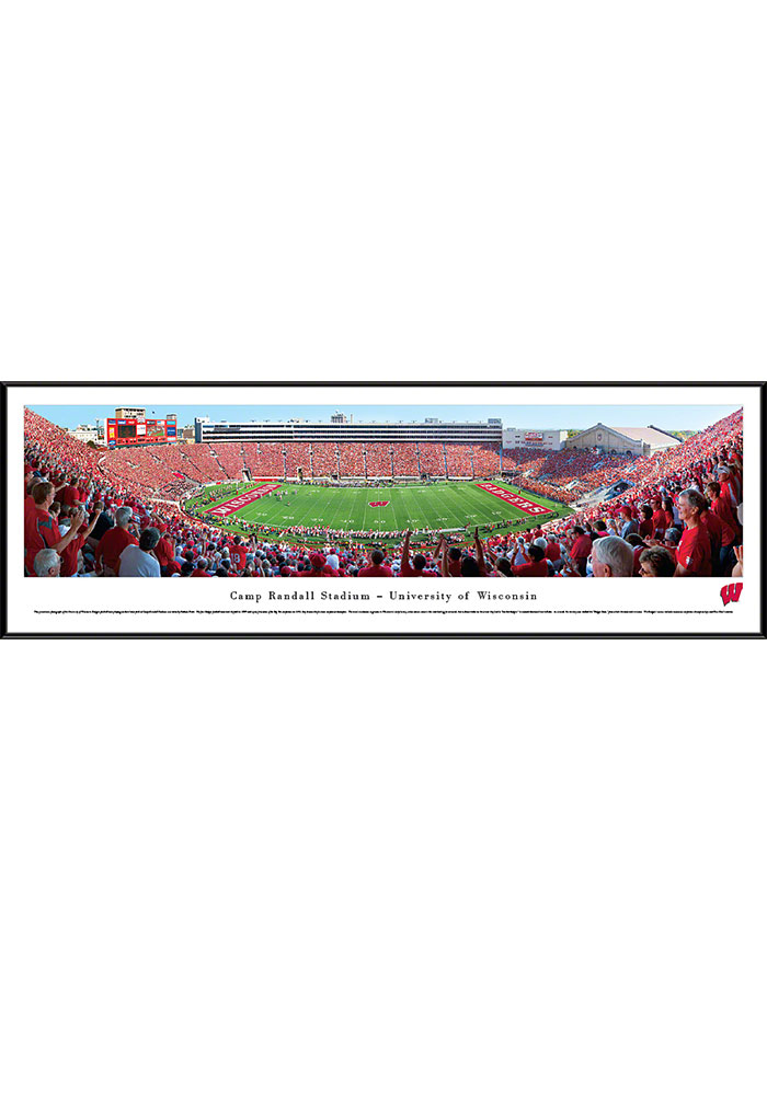 Wisconsin Badgers Camp Randall Stadium Standard Framed Posters - Image 1