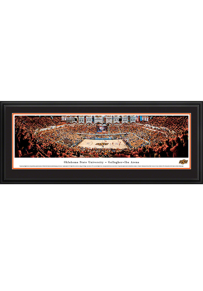 Oklahoma State Cowboys Gallagher-Iba Arena Deluxe Framed Posters - Image 1