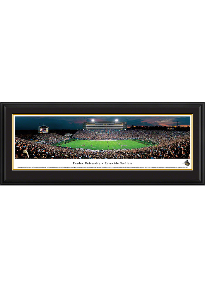 Purdue Boilermakers Ross-Ade Stadium Deluxe Framed Posters - Image 1