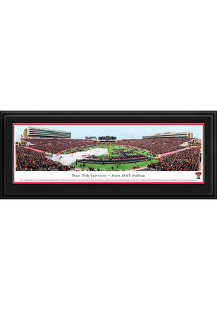 Texas Tech Red Raiders Jones AT&T Stadium Deluxe Framed Posters