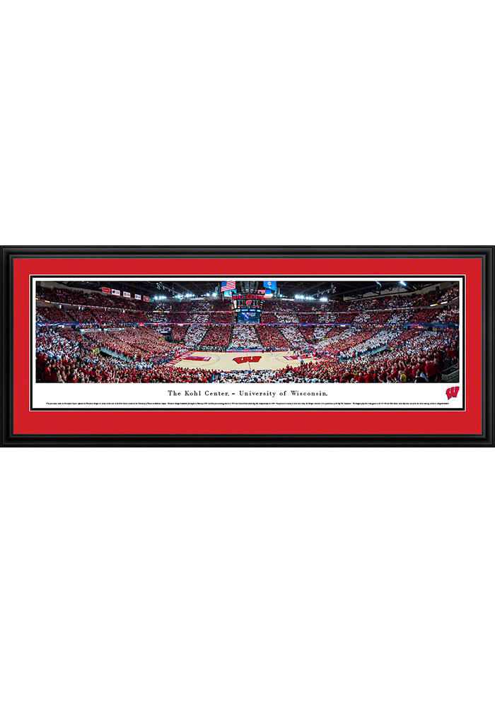 Wisconsin Badgers Kohl Center Deluxe Framed Posters - Image 1