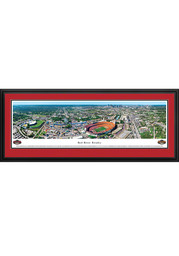 Oklahoma Sooners v. Texas Red River Rivalry Aerial Deluxe Framed Framed Posters
