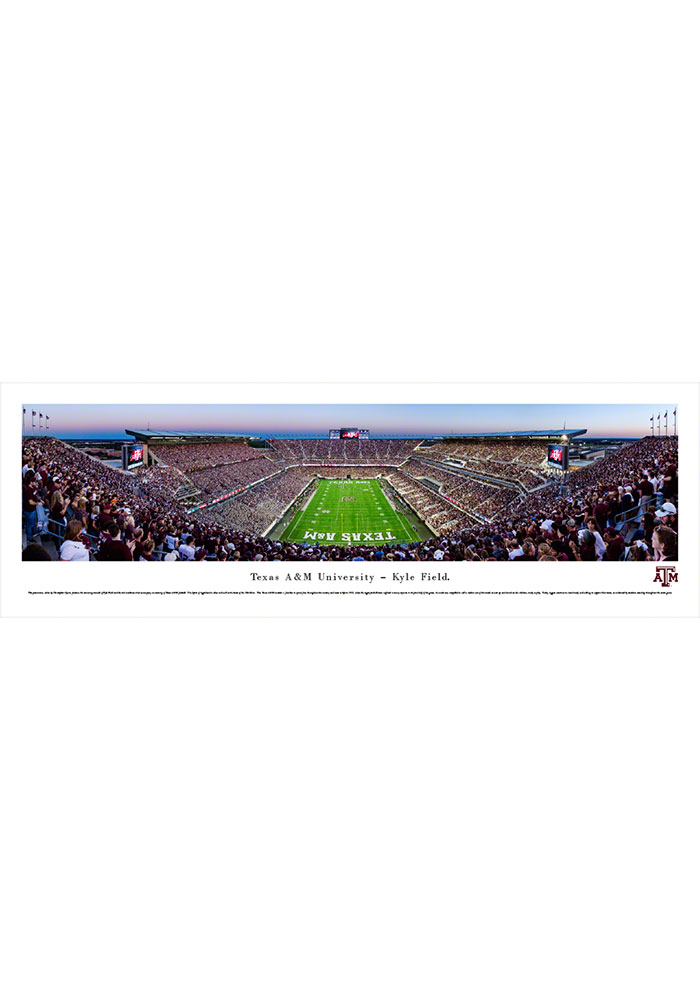 Texas A&M Aggies Kyle Field Endzone Tubed Unframed Poster - Image 1