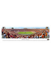 Red River Rivalry 50 Yard Line Unframed Poster