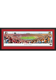 Oklahoma Sooners v. Texas Red River Rivalry 50 Yard Line Deluxe Framed Posters