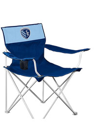 Sporting Kansas City Navy Canvas Chair