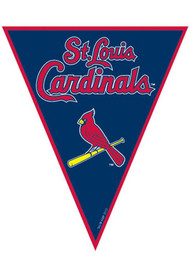 St Louis Cardinals 12x10 12 Pack Pennant Streamers