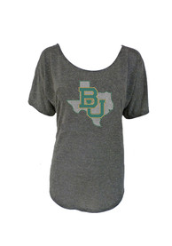 Baylor Bears Womens Black Macy Scoop
