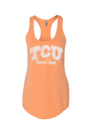 TCU Horned Frogs Juniors Orange Alyssa Tank Top