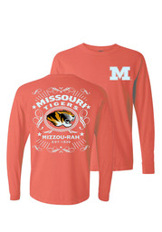 Mizzou Womens Tradition Alive coral T-Shirt