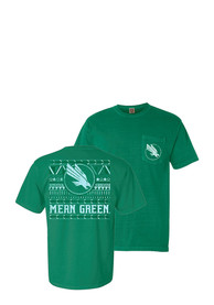 North Texas Mean Green Womens Green Comfort Color Unisex Tee