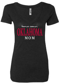 Oklahoma Sooners Womens Red Emily T-Shirt