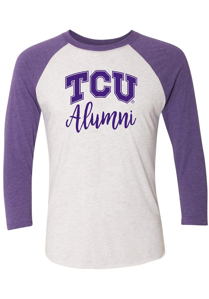 TCU Horned Frogs Womens Alumni White LS Tee