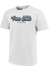 Penn State Nittany Lions Womens Comfort Colors T-Shirt - White