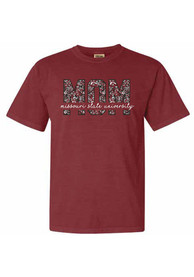 Missouri State Bears Womens Floral Mom T-Shirt - Brown