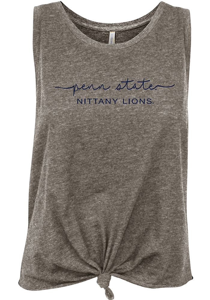 Penn State Nittany Lions Womens Grey Reese Tank Top - Image 1