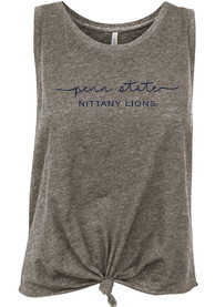 Penn State Nittany Lions Womens Reese Tank Top - Grey