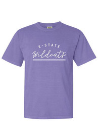 K-State Wildcats Womens New Basic T-Shirt - Lavender