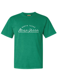 North Texas Mean Green Womens New Basic T-Shirt - Green
