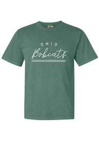 Ohio Bobcats Womens New Basic T-Shirt - Green