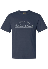 Penn State Nittany Lions Womens New Basic T-Shirt - Navy Blue