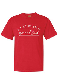 Pitt State Gorillas Womens New Basic T-Shirt - Red