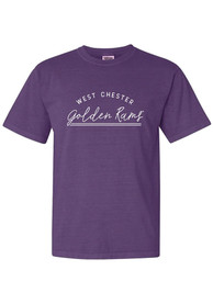 West Chester Golden Rams Womens New Basic T-Shirt - Purple