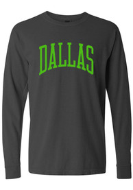 Dallas Ft Worth Arch T Shirt - Charcoal