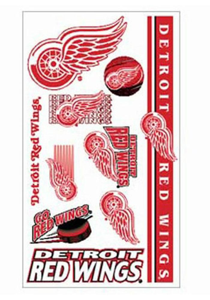 Detroit Red Wings Sheet Tattoo