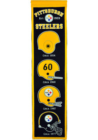Pittsburgh Steelers 8x32 Heritage Banner