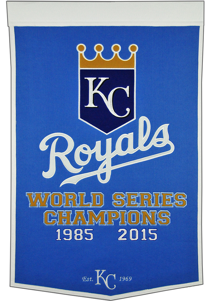 Kansas City Royals 24x38 Dynasty Banner 16660086
