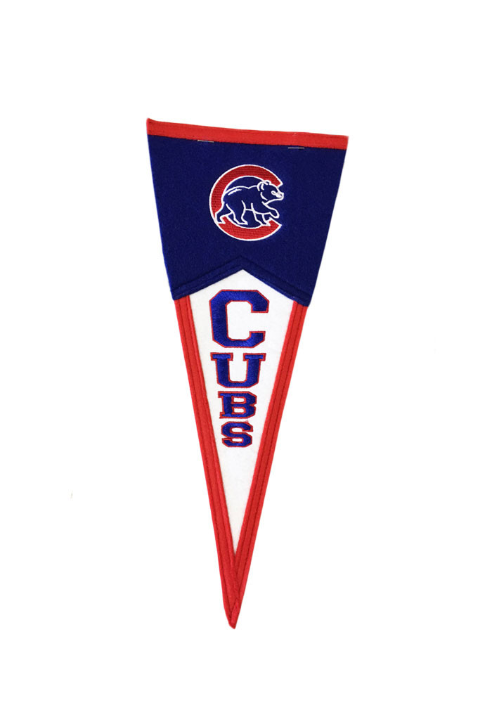 Chicago Cubs 6x15 Mini Pennant - Image 1
