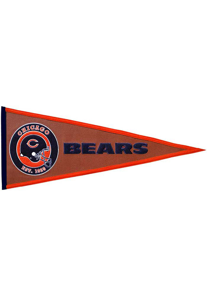 Chicago Bears 13x32 Pigskin Pennant - Image 1